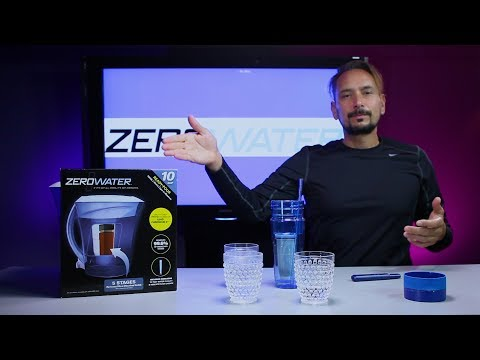 Zero Water 10 Cup Pitcher & Travel Tumbler (26oz.) Review