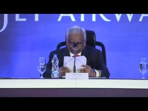 Jet Airways Press Conference, Mumbai – 14 August 2015