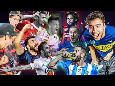 LOS MEJORES vs LOS PEORES de la SUPERLIGA 2019 | PES 2019