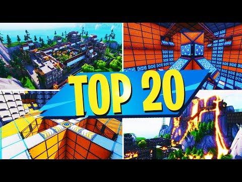 TOP 20 MOST FUN Creative Maps In Fortnite | Fortnite Creative Map CODES