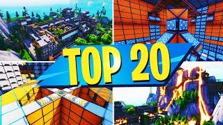 TOP 20 MOST FUN Creative Maps In Fortnite | Fortnite Creative Map CODES
