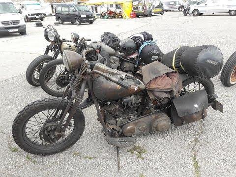 "Custom ""rat look"" Harley Davidson\'s"