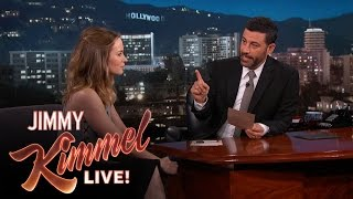 Emily Blunt Answers More American Trivia