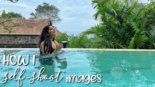 How I Self-Shoot Images | Ahaana Krishna