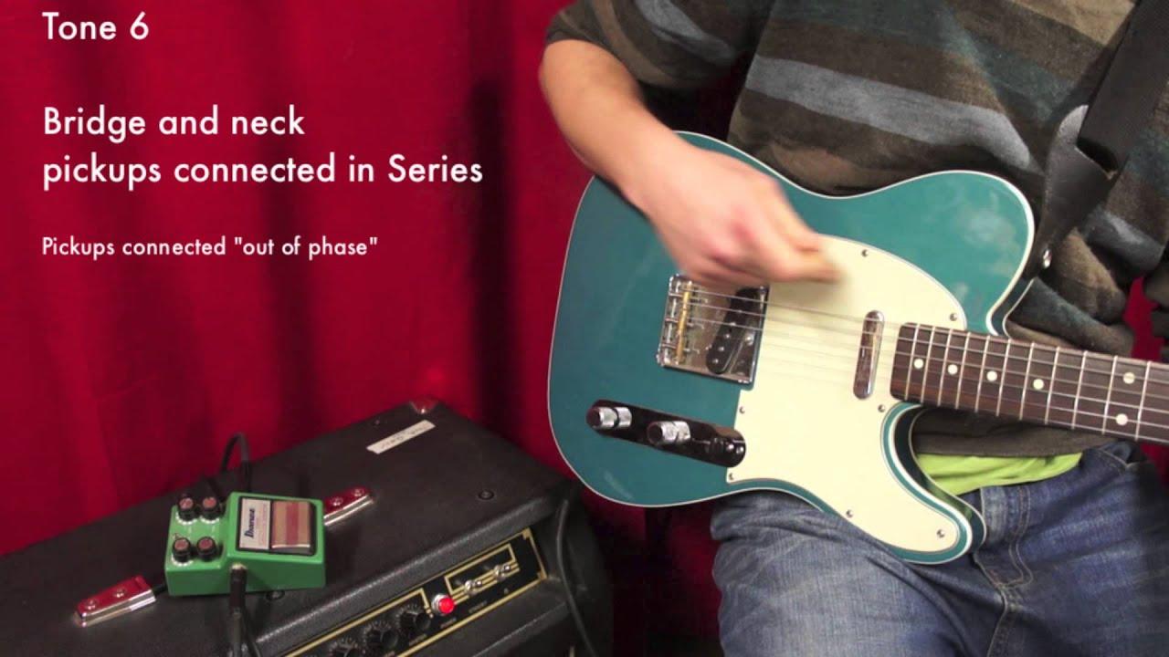 Solderless 6 Tone Telecaster Custom Wiring Distortion Demo Best Harness For Jacks Instrument Services