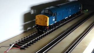 Heljan O gauge class 40 fitted with twin speakers and Legomanbifffo sound