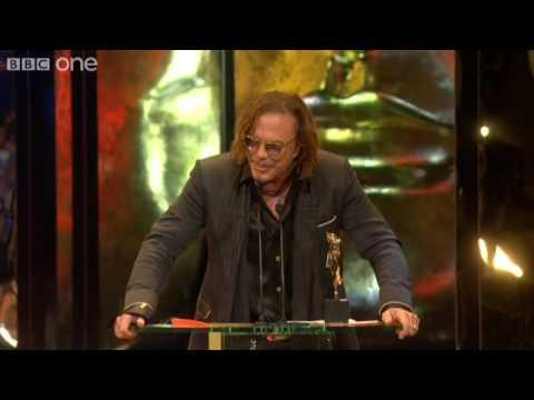 Mickey Rourke wins Best Actor BAFTA - The British Academy Film Awards 2009 - BBC One