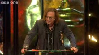 Mickey Rourke wins Best Actor BAFTA - The British Academy Film Awards 2009 - BBC One