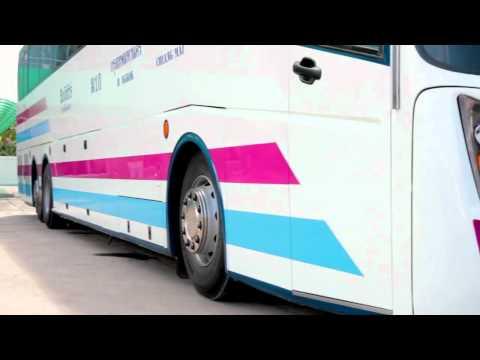 สมบัติทัวร์ - รถทัวร์ลีมูซีนคันแรกของประเทศไทย
