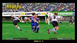 Virtua Striker 2 ver 2000 - Mame 0.196 - Naomi - Shortplay