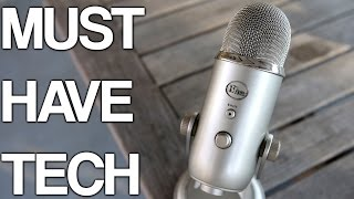 Must Have Tech #3: Blue Yeti! (Review + Giveaway)