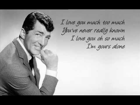 Dean Martin - I Love You Much Too Much