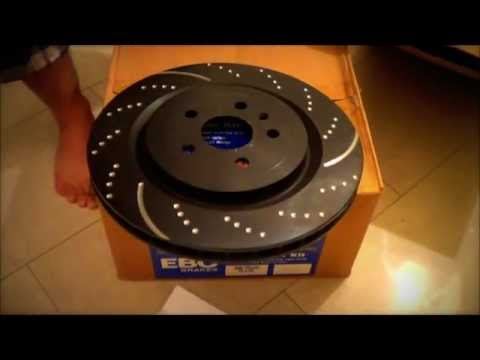 EBC Brake Rotors Kit(slotted And Dimpled) - Whats Inside The Box?