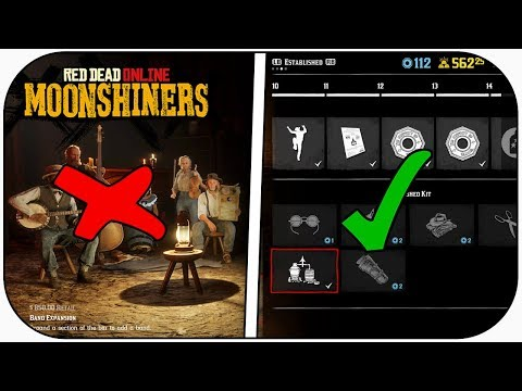 Red Dead Online: Moonshine Business BAR & BAND Upgrades (BUYERS BEWARE!)