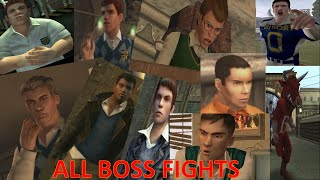 All Boss Fights : Bully Scholarship Edition