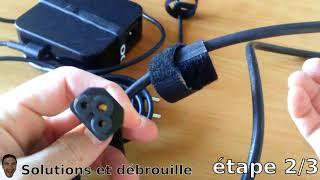 [Tuto] Réparer un chargeur d'ordinateur portable (ASUS)