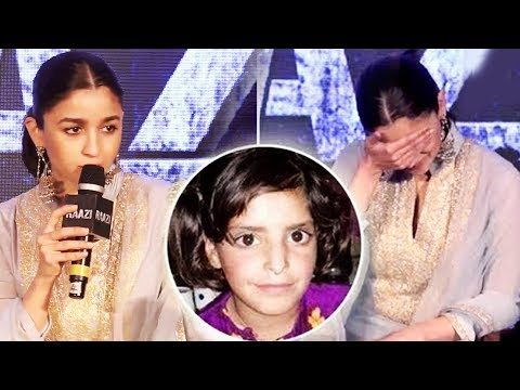 Asifa Case पर बोलते समय Alia Bhatt न रोक पाई आंसू