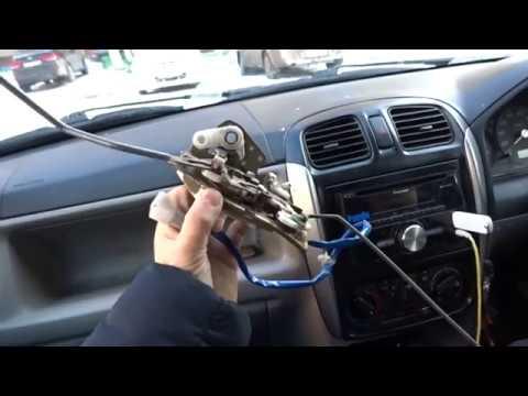 Замена центрального замка на Mazda Demio