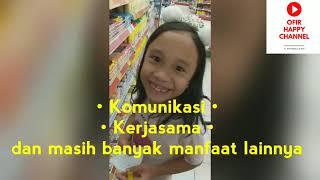 Manfaat Bagi Anak Yang Ikut Berbelanja Bulanan Ala Ofir Happy Channel