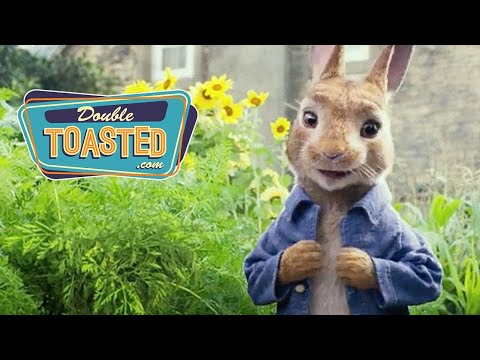 PETER RABBIT MOVIE REVIEW (starring James Corden and Domhnall Gleeson)