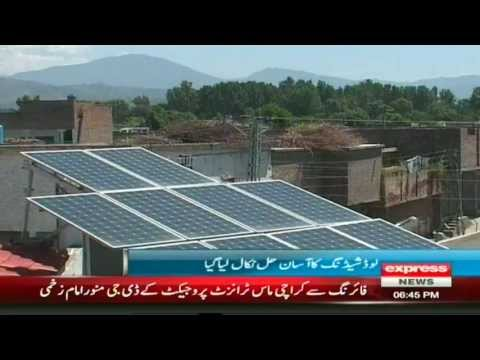 solar energy in swat valley pakistan
