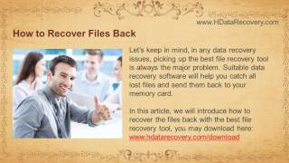 Memory Card Recovery Tutorial  How to Restore a Deleted File