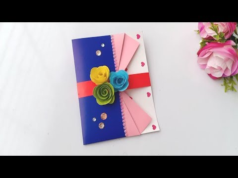 How to make Birthday Card / Handmade easy card Tutorial