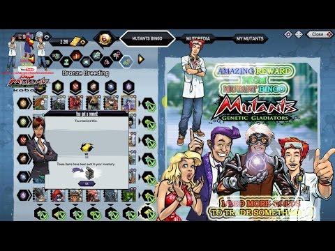 Mutant Genetic Gladiator : Free Amazing Reward (Gold, Star, Coin, etc) Just Go Get Them All