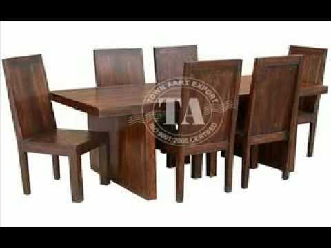 Furniture Wooden Dining Room Indian Handicraft Manufacturer And Exporter