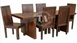 Furniture Wooden Dining Room Furniture Indian Furniture & Handicraft Manufacturer and Exporter