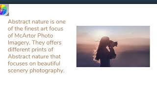 Abstract Nature | Beautiful Scenery Photography | McArtor Photo Imagery
