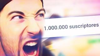 Cuando BYVIRUZZ llega al MILLÓN  de subs (TROLLEO)