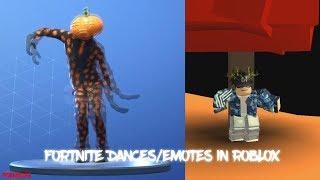 Fortnite Dances/Emotes in Roblox