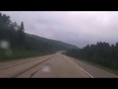 Drivelapse - Bighorn Highway - Alberta, Canada - Grande Cache, AB to Grande Prairie, AB