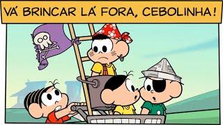 Vá brincar lá fora, Cebolinha! | Turma da Mônica