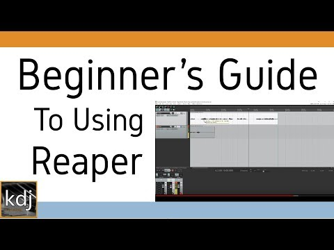 Beginner's Guide to Using Reaper (Updated)