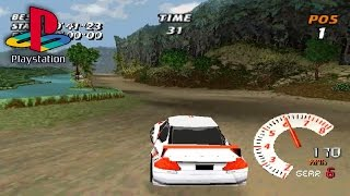 Need for Speed V-Rally (PS1 Gameplay)