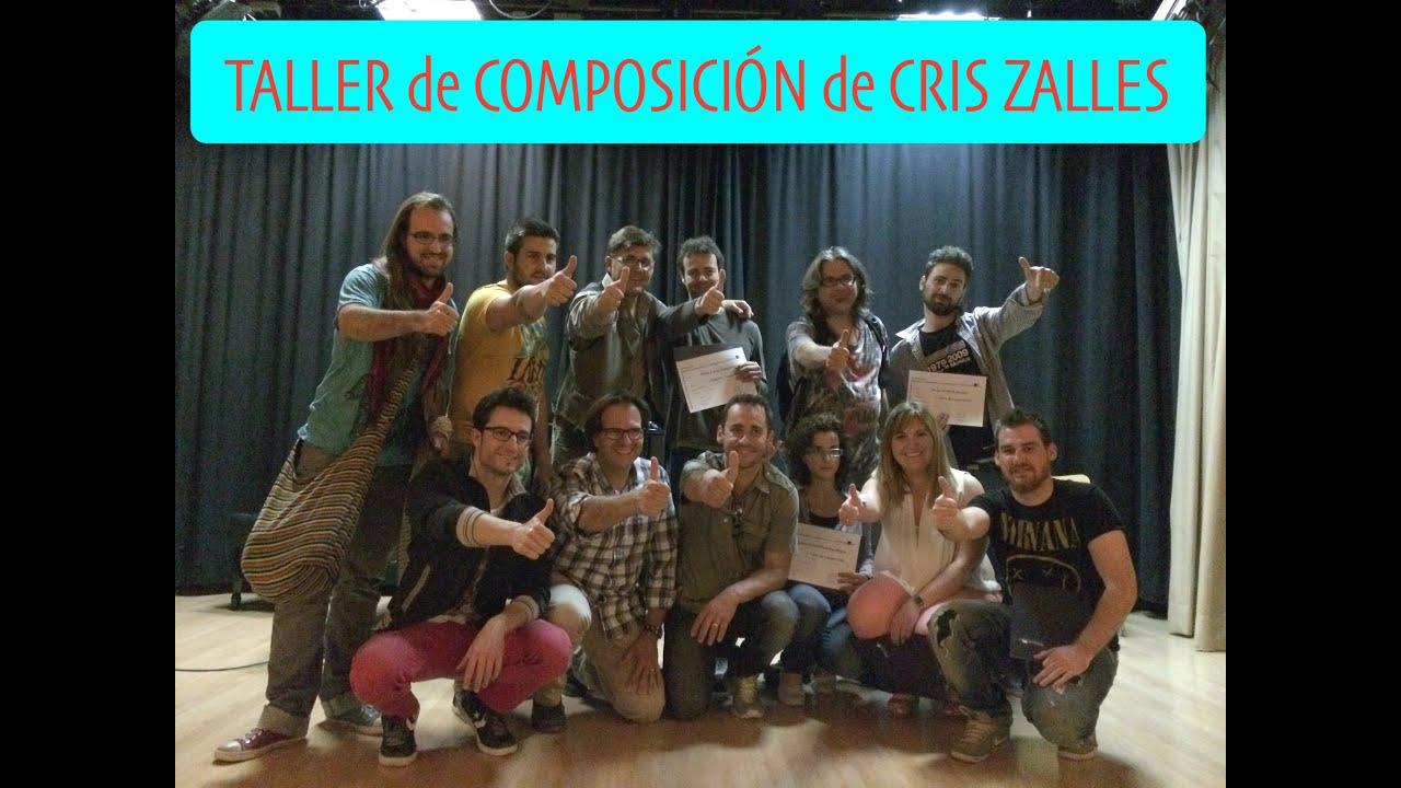 Cris Zalles Taller de Composición Testimonios SGAE Valencia 2014