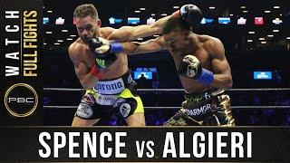 Spence vs Algieri FULL FIGHT: April 16, 2016 - PBC on NBC