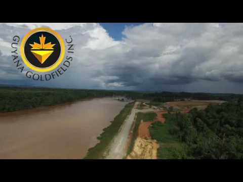 Gold Mining  At Guyana Gold Fields