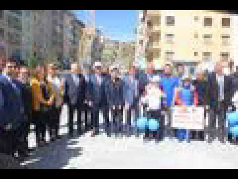 """Hakkari'de """" 2 Nisan Otizm Farkındalık"""" yürüyüşü düzenlendi"""