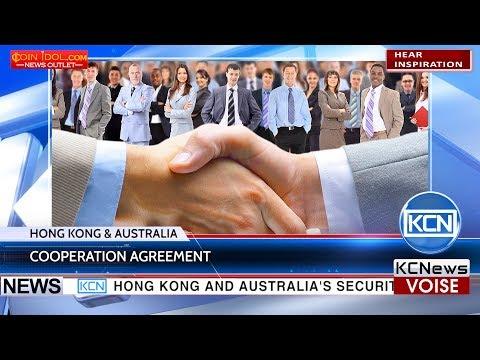KCN Hong Kong and Australia securities regulators signed a cooperation agreement