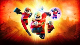 Lego The Incredibles - 100% Completion Video - Free Roam Mode!!
