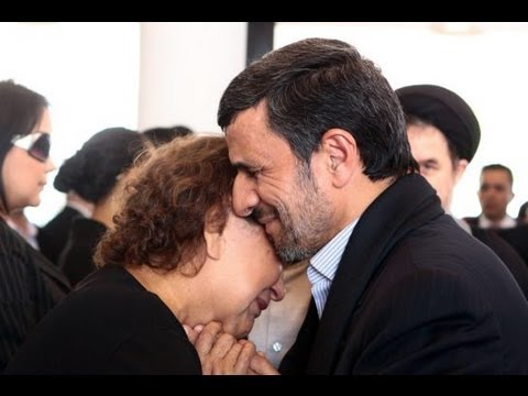 Ahmadinejad Hugs Chavez's Mother: Outrage!