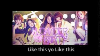 [MP3/DL]02. Wonder Girls-Like This with lyrics (Eng./Romanization/Hangul)
