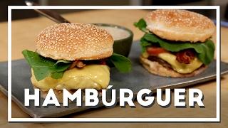 Como fazer Hambúrguer - Renato Carioni