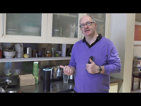 John Lanchester argues with his Amazon Echo