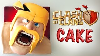 CLASH OF CLANS CAKE   Ann Reardon How To Cook That barbarian cake