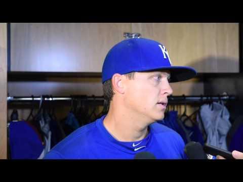 Royals pitcher Kris Medlen on returning to the mound