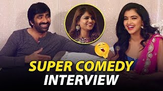 Nela Ticket Team Super Comedy Interview with Kathi Karthika | Raviteja & Nela Ticket Team Interview